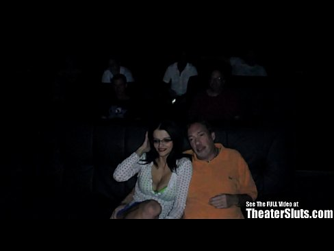 Native American Gang Fuck in USA Porn Theater