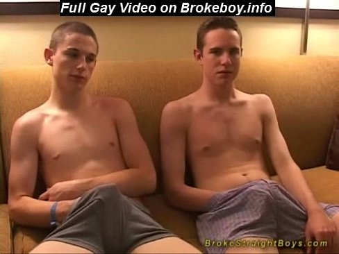 Straight boys fuck for the very first time