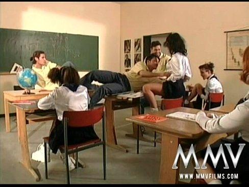German classroom porn