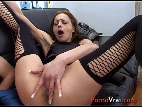 Случайный оргазм во время порно съемок — 12