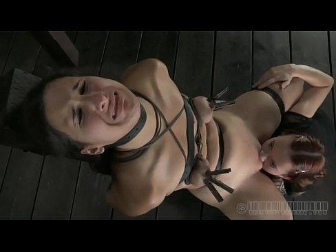 Sweet hottie receives lusty torment