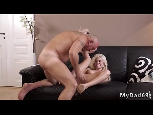 Cock and fingers pussy at the same time blonde fucked by monster