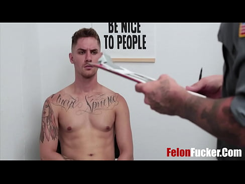 A Thorough Inspection By Gay Cop- Zak Bishop, JJ Knight