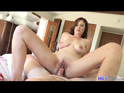 MILFTRIP Busty MILF Lyft Driver Alice Chambers Convinced To Fuck