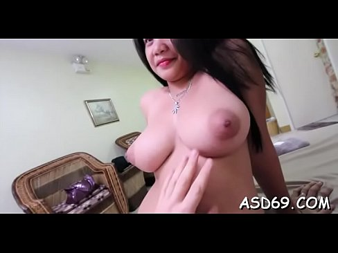 Nasty oriental slut in a hot act