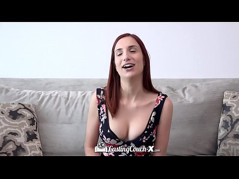 CASTINGCOUCH-X Newcomer April Snow fingered and fucked on film