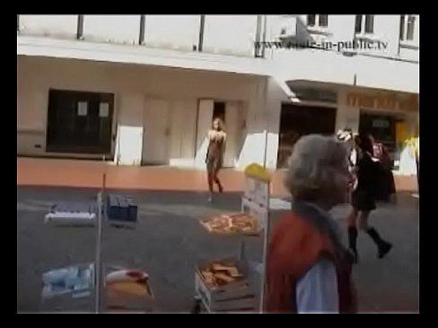Anina nude in public 2
