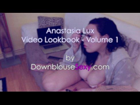 anastasia lux - video lookbook 1 massive swinging tits brunette bbw