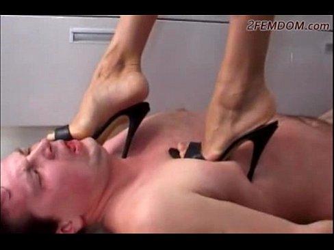 Russian Goddes trample slave