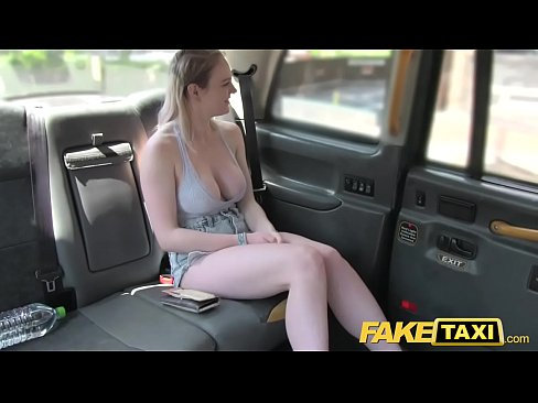 Mature Blonde Fake Taxi