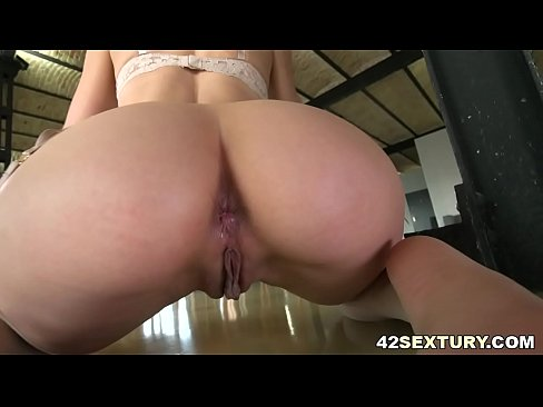 Tight asshole filled with thick cock