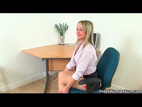 Britain's sexiest mature secretaries