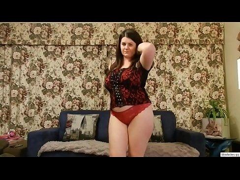 Big Natural Tits Strip Dance