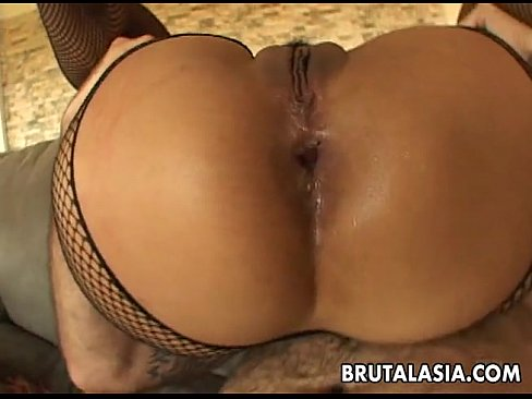 Asian Slut Is Spit Roasted A Couple Of Cocks