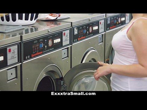 Petite Teen Fucked In Laundromat Camsex99