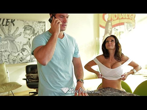HD PureMature – Ava Addams massive rack gets her guy hard