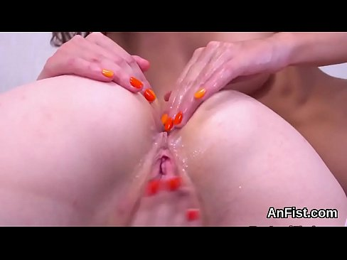 spicy lesbian models are opening up and fist fucking ass holes