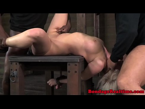 Subs Interracial On Bondage Frame