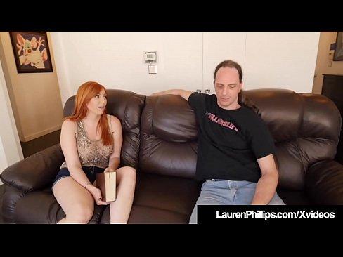 cover video busty redhead l  auren phillips blows   blows