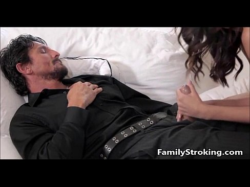 Daughter Blowjob While Step Dad Sleeps – FamilyStroking.com