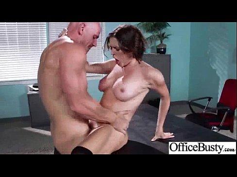 Hot girls having sex in the office