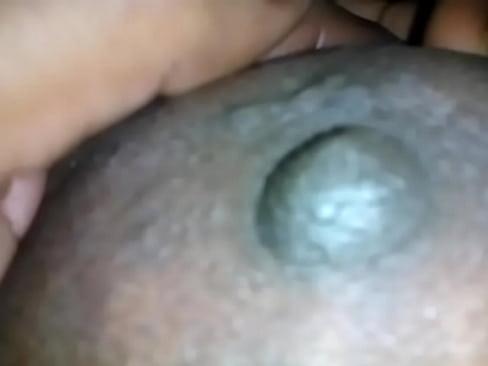 aunty  Showing bigboobs