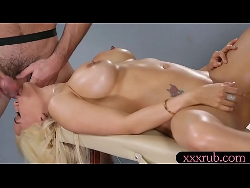 lusty woman receives massage and boned till she squirts