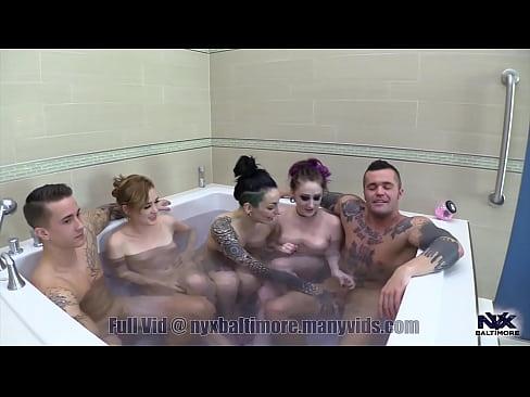 Hottub orgy d