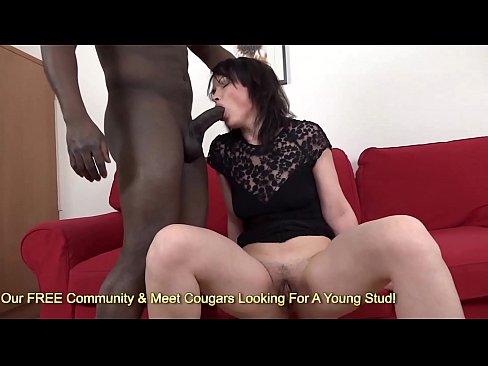 Claudie Dark Rams A Big Black Dick In Her Asshole