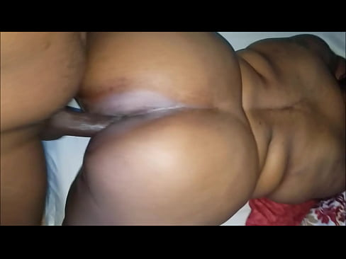black bbw squirts all over the dick and gets a creamy load inside her wet pussy