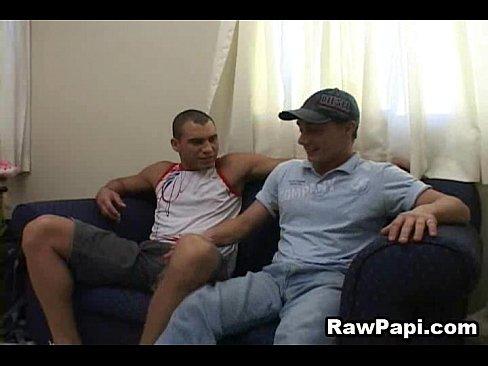 horny sexy gay bareback sex scene