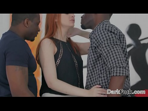 interracial double penetration with maya kendrick
