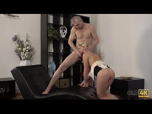 old4k. slim hottie nicely rides lovers dick in old and young video