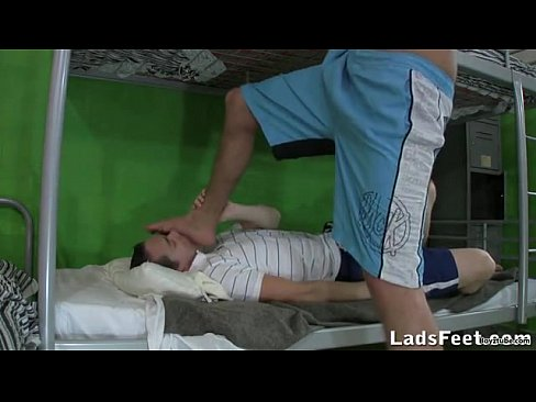 slave free movie trampling foot Domination