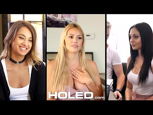 HOLED Big Dick Injected Into Tight Brown Asshole With Kristen Scott