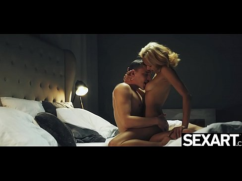 Stunning blonde rides a big cock to an intense squirting orgasm