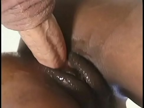 superb ebony babe blows cock and gets her mouth full of cream
