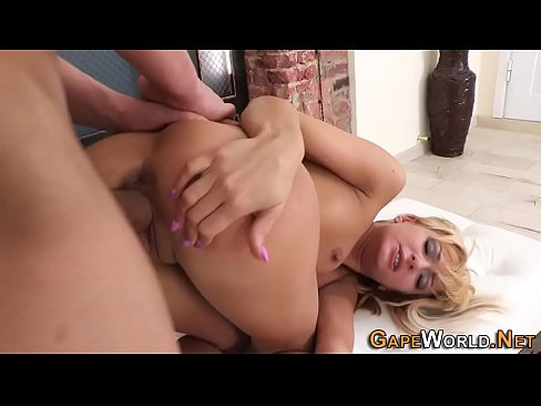 Gaping hole slut wife