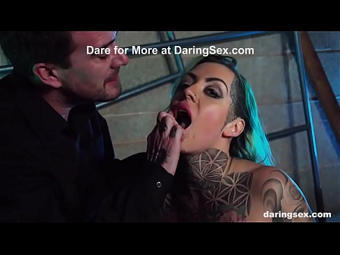 Tattooed Phoenix Madina Is a Fucking Sex Addict!