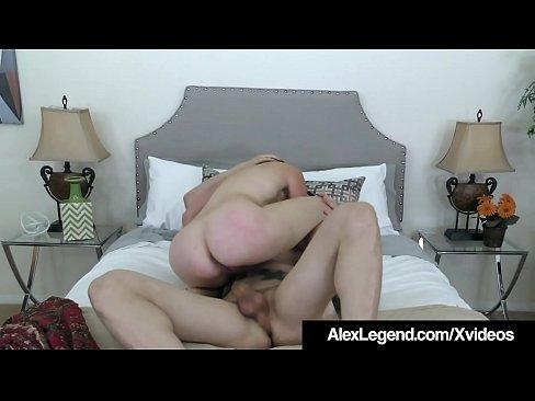 spanish redhead amarna miller fucks alex legends big cock!