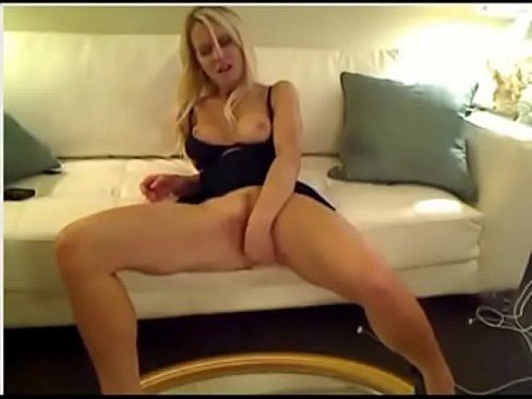 blonde hottie squirts for the first time on webcam's Thumb