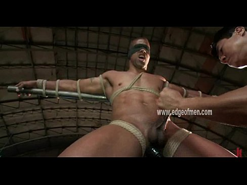 Gay men bound and gagged