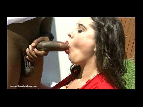 MILF Latina Housewife Adrianna Avalon Fucks Big Black Cock