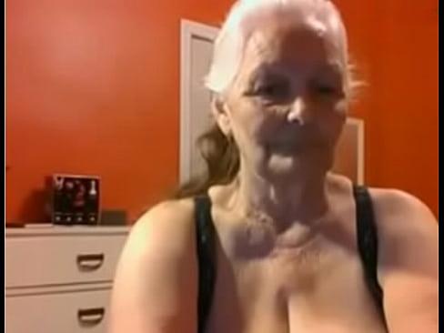 Short Hair Granny Big Tits