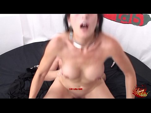hot brunette fucked very hard strong sex with horny milf