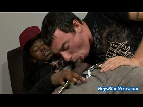 hard black gay dick