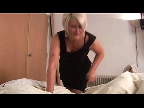 Tugging cock Wife