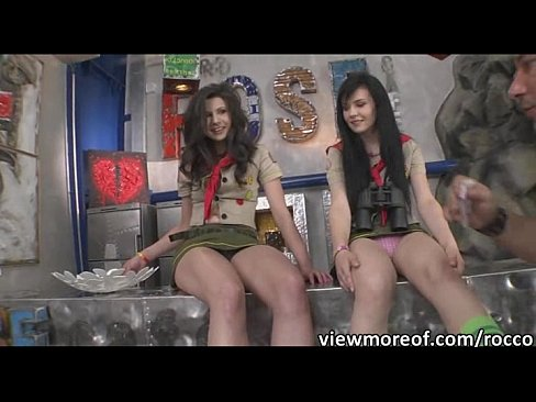 Sexy scout rangers Mazy Teen and Timea Bella in hardcore anal fuckXXX Sex Videos 3gp