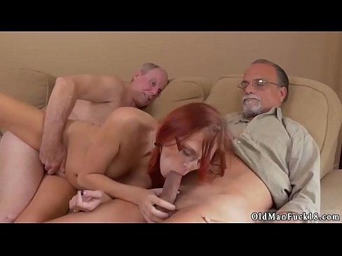 Teen Threesome Stocking Hd