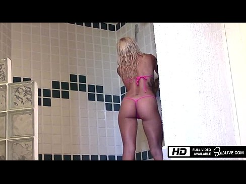 Kissa Sins gets fucked by Johnny Sins in the Shower in Mexico's Thumb